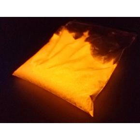 Люминесцентный пигмент Люминофор цветной ТАТ 33 оранжевый (80 микрон) - интернет-магазин tricolor.com.ua