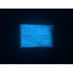 Люминесцентный пигмент Люминофор цветной ТАТ 33 синий (30 микрон) - изображение 2 - интернет-магазин tricolor.com.ua