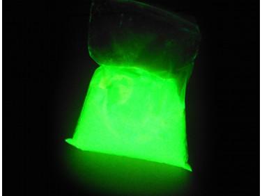 Люминесцентный пигмент Люминофор цветной ТАТ 33 темно-зеленый (30 микрон)