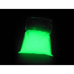Люминесцентный пигмент Люминофор ТАТ 33 белый с зеленым свечением (30 микрон)