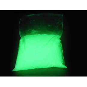 Люминесцентный пигмент Люминофор цветной ТАТ 33 фиолетовый с зеленым свечением (30 микрон)