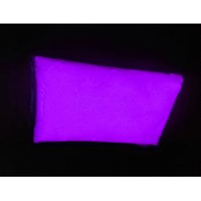 Люминесцентный пигмент Люминофор цветной ТАТ 33 фиолетовый с фиолетовым свечением (80 микрон)