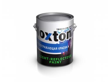 Светоотражающая краска для металла NoxTon красная