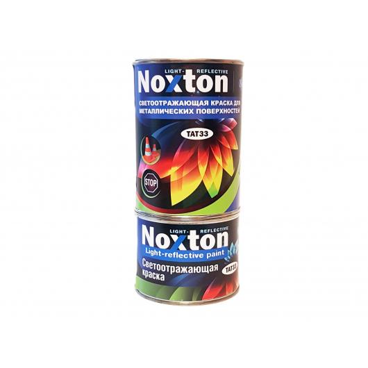 Светоотражающая краска для металла NoxTon красная - изображение 2 - интернет-магазин tricolor.com.ua
