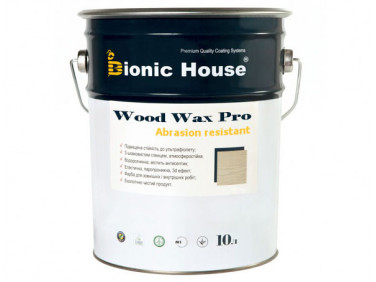 Краска-воск для дерева Wood Wax Pro Bionic House алкидно-акриловая бесцветная