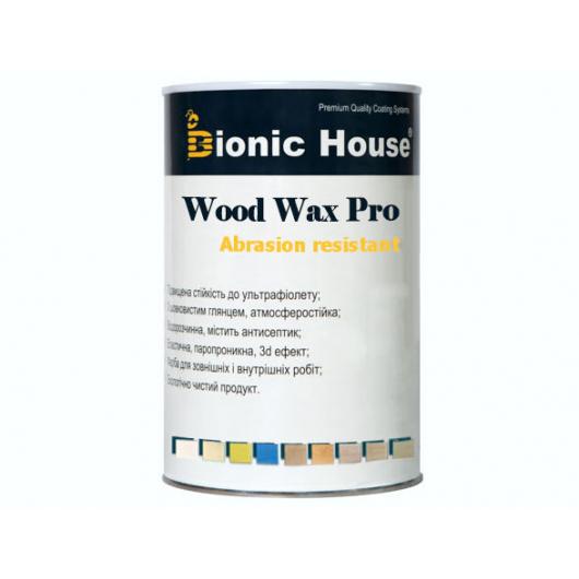 Краска-воск для дерева Wood Wax Pro Bionic House алкидно-акриловая бесцветная - изображение 2 - интернет-магазин tricolor.com.ua