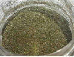 Купить Глиттер голографический GG-21/0,2 мм (1/128) оливковый Tricolor - 6
