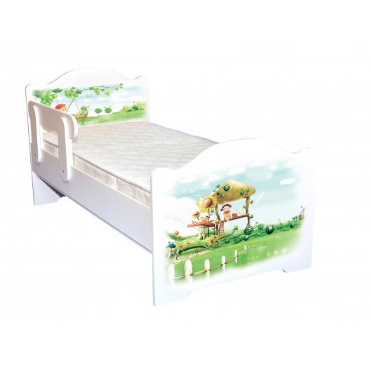 Кроватка эксклюзив Нежность 80х170 ДСП