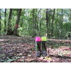Флуоресцентная аэрозольная краска для маркировки леса Biodur Forest Marking Spray (желтая) - изображение 3 - интернет-магазин tricolor.com.ua