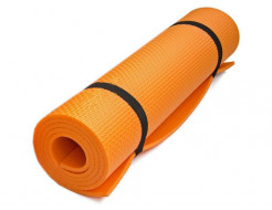 Коврик-каремат Izolon Fitness оранжевый - изображение 4 - интернет-магазин tricolor.com.ua