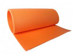 Коврик-каремат Izolon Fitness оранжевый - изображение 2 - интернет-магазин tricolor.com.ua