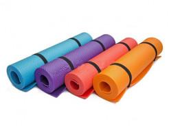 Коврик-каремат Izolon Fitness 140х50 синий - изображение 2 - интернет-магазин tricolor.com.ua