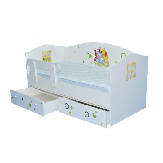 Кроватка домик Винни 80х170