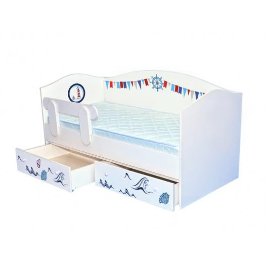 Кроватка домик Корабль 80х170