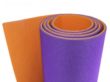 Коврик-каремат Izolon Optima Plus оранжево-фиолетовый
