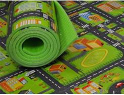 Коврик-декор Izolon Город 1800*550*8 мм - изображение 2 - интернет-магазин tricolor.com.ua