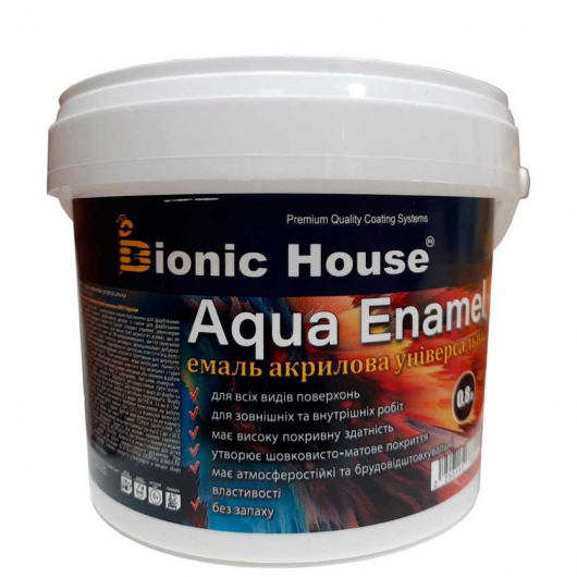 Эмаль для дерева Aqua Enamel Bionic House акриловая Лаванда - изображение 2 - интернет-магазин tricolor.com.ua