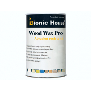 Краска-воск для дерева Wood Wax Pro Bionic House алкидно-акриловая Серый сланец - изображение 2 - интернет-магазин tricolor.com.ua