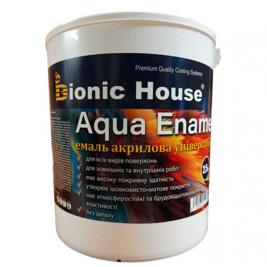 Эмаль для дерева Aqua Enamel Bionic House акриловая Грей - интернет-магазин tricolor.com.ua