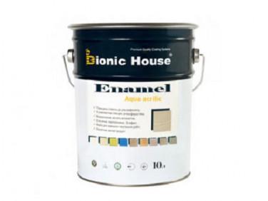 Эмаль для дерева Aqua Enamel Bionic House акриловая Капучино