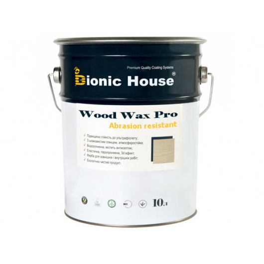 Краска-воск для дерева Wood Wax Pro Bionic House алкидно-акриловая Хаки - интернет-магазин tricolor.com.ua