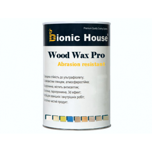 Краска-воск для дерева Wood Wax Pro Bionic House алкидно-акриловая Хаки - изображение 2 - интернет-магазин tricolor.com.ua