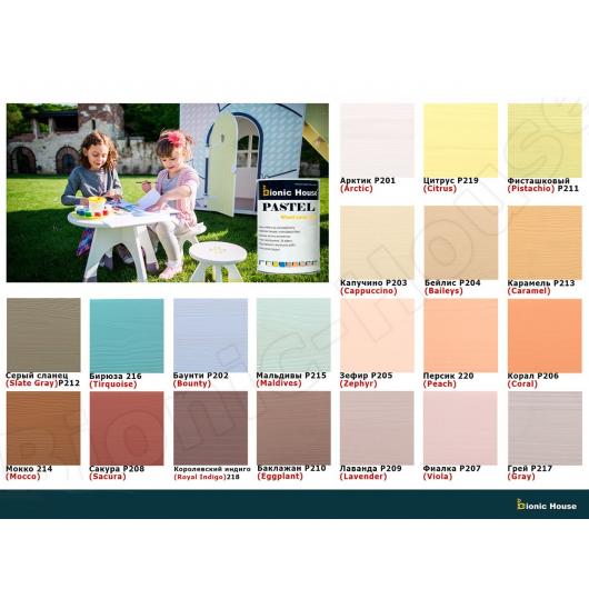 Краска-воск для дерева Wood Wax Pro Bionic House алкидно-акриловая Каштан - изображение 4 - интернет-магазин tricolor.com.ua