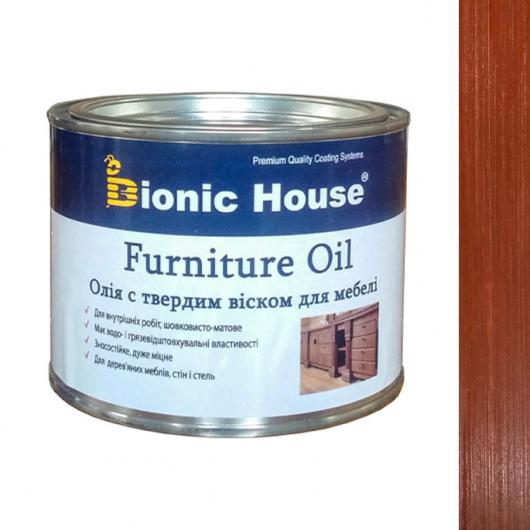 Масло для мебели Furniture oil Bionic House с твердым воском профессиональное Тик - интернет-магазин tricolor.com.ua