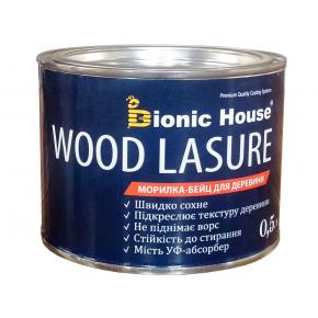 Морилка-бейц для дерева Wood Lasure Bionic House антисептическая Янтарь - изображение 2 - интернет-магазин tricolor.com.ua