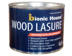 Морилка-бейц для дерева Wood Lasure Bionic House антисептическая Махагон - изображение 4 - интернет-магазин tricolor.com.ua