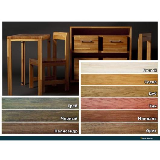 Масло для мебели Furniture oil Bionic House с твердым воском профессиональное Грей - изображение 2 - интернет-магазин tricolor.com.ua