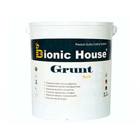 Грунт-лак акриловый Bionic House полуматовый Белый - изображение 3 - интернет-магазин tricolor.com.ua