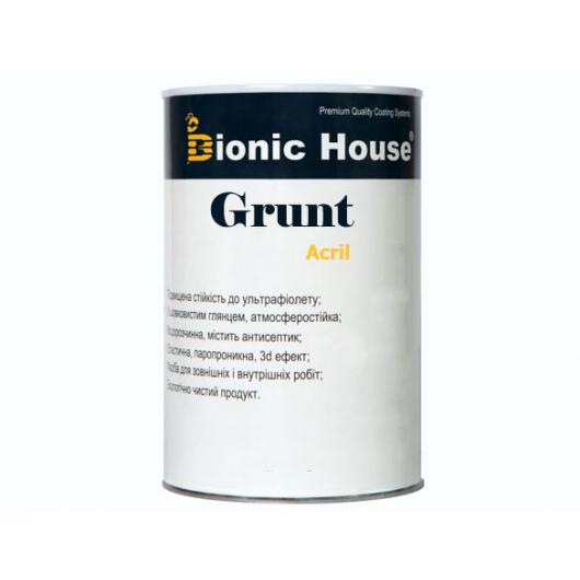 Грунт-лак акриловый Bionic House полуматовый Слоновая кость - изображение 2 - интернет-магазин tricolor.com.ua