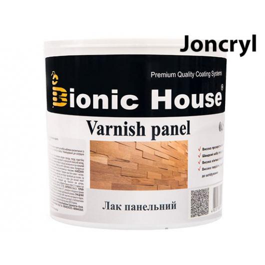 Лак панельный профессиональный Joncryl Bionic House полуматовый Орех - интернет-магазин tricolor.com.ua