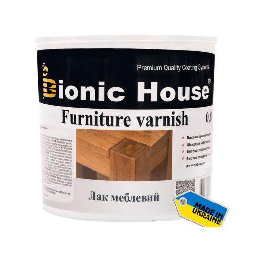 Лак мебельный акриловый Joncryl Bionic House полуматовый Орех - интернет-магазин tricolor.com.ua