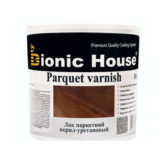 Лак паркетный Joncryl Bionic House полуматовый Орех - интернет-магазин tricolor.com.ua