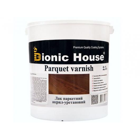 Лак паркетный Joncryl Bionic House полуматовый Орех - изображение 2 - интернет-магазин tricolor.com.ua
