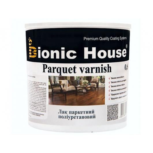 Лак паркетный ультрастойкий Joncryl Bionic House полуматовый Черный - интернет-магазин tricolor.com.ua