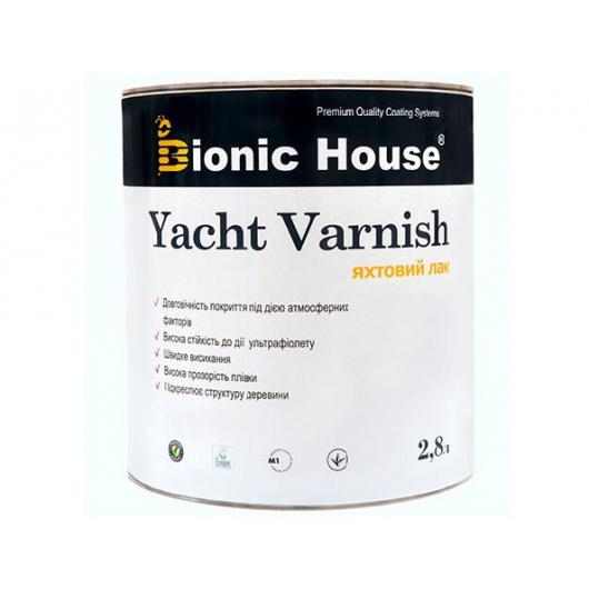 Лак яхтный Bionic House полуматовый Орегон - интернет-магазин tricolor.com.ua