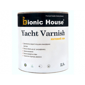 Лак яхтный Bionic House полуматовый Пепел - интернет-магазин tricolor.com.ua