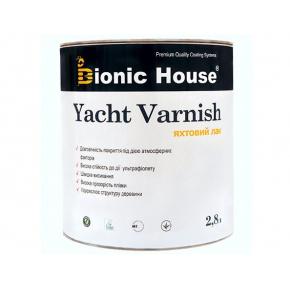Лак яхтный Bionic House полуматовый Черный - интернет-магазин tricolor.com.ua