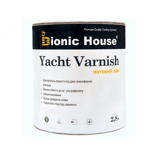 Лак яхтный Bionic House полуматовый Розовое дерево - интернет-магазин tricolor.com.ua