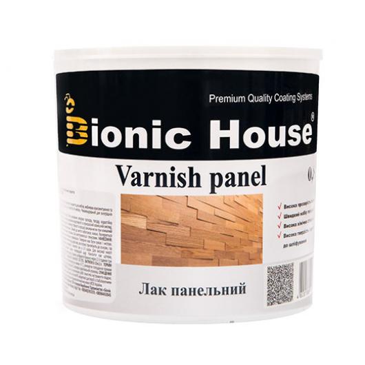 Лак панельный акриловый Bionic House полуматовый Черный - интернет-магазин tricolor.com.ua