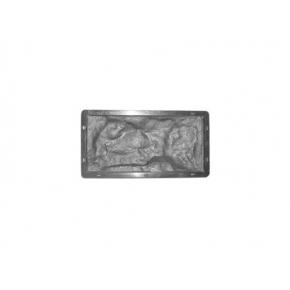 Форма для тротуарной плитки «Рваный камень №5» 26,7x12,5x2,5 AX