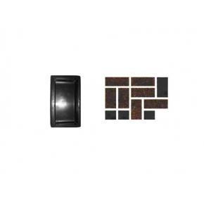 Форма для тротуарной плитки «Кирпич гладкий» 20x10x4,5 AX