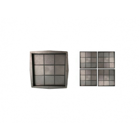 Форма для тротуарной плитки «Квадрат кубик» 30x30x3 AX