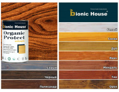 Антисептик для дерева Bionic House Organic Protect Белый - изображение 3 - интернет-магазин tricolor.com.ua