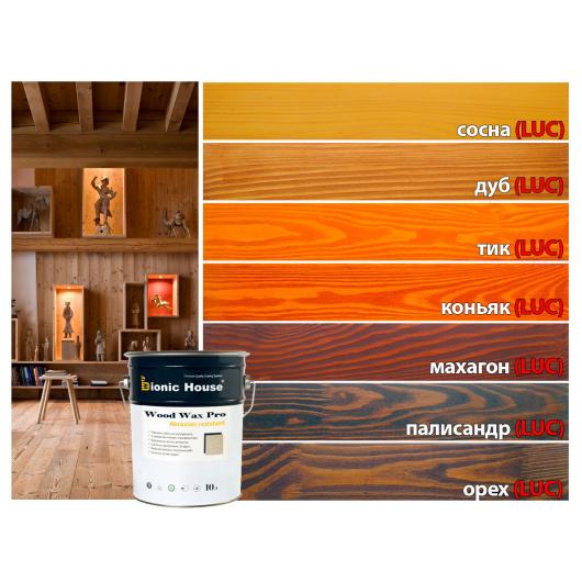 Краска-воск для дерева Wood Wax Pro Bionic House алкидно-акриловая Дуб LUC - изображение 3 - интернет-магазин tricolor.com.ua