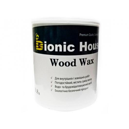 Акриловая эмульсия с воском Wood Wax Bionic House Махагон LUC - интернет-магазин tricolor.com.ua