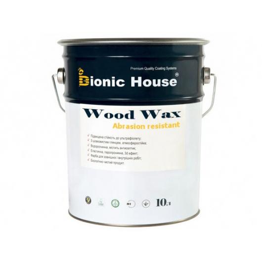 Акриловая эмульсия с воском Wood Wax Bionic House Махагон LUC - изображение 3 - интернет-магазин tricolor.com.ua